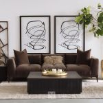25 Contemporary Plush Accent Chair In Brown Mathis