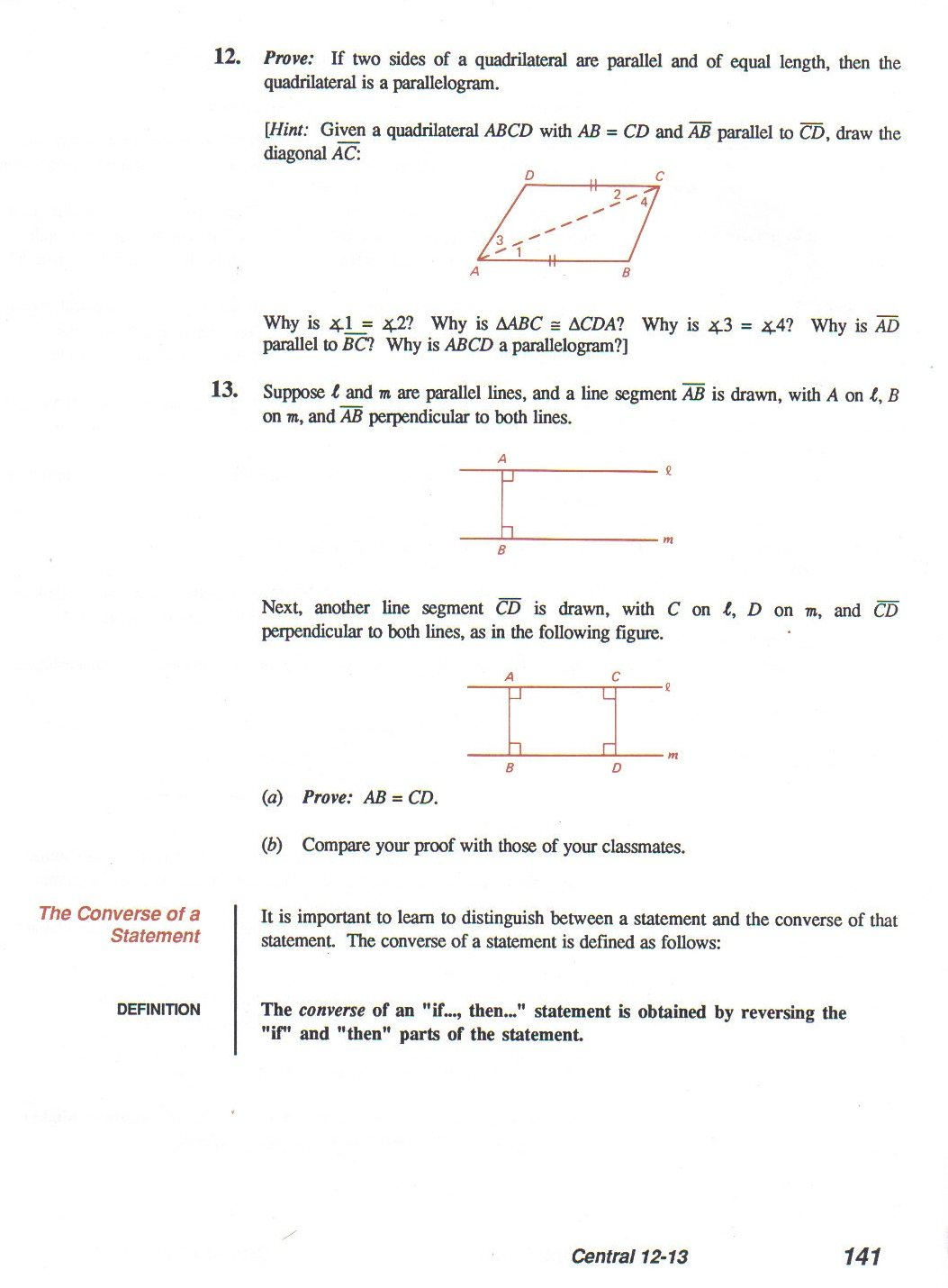 Introduction To Proofs Geometry Worksheet