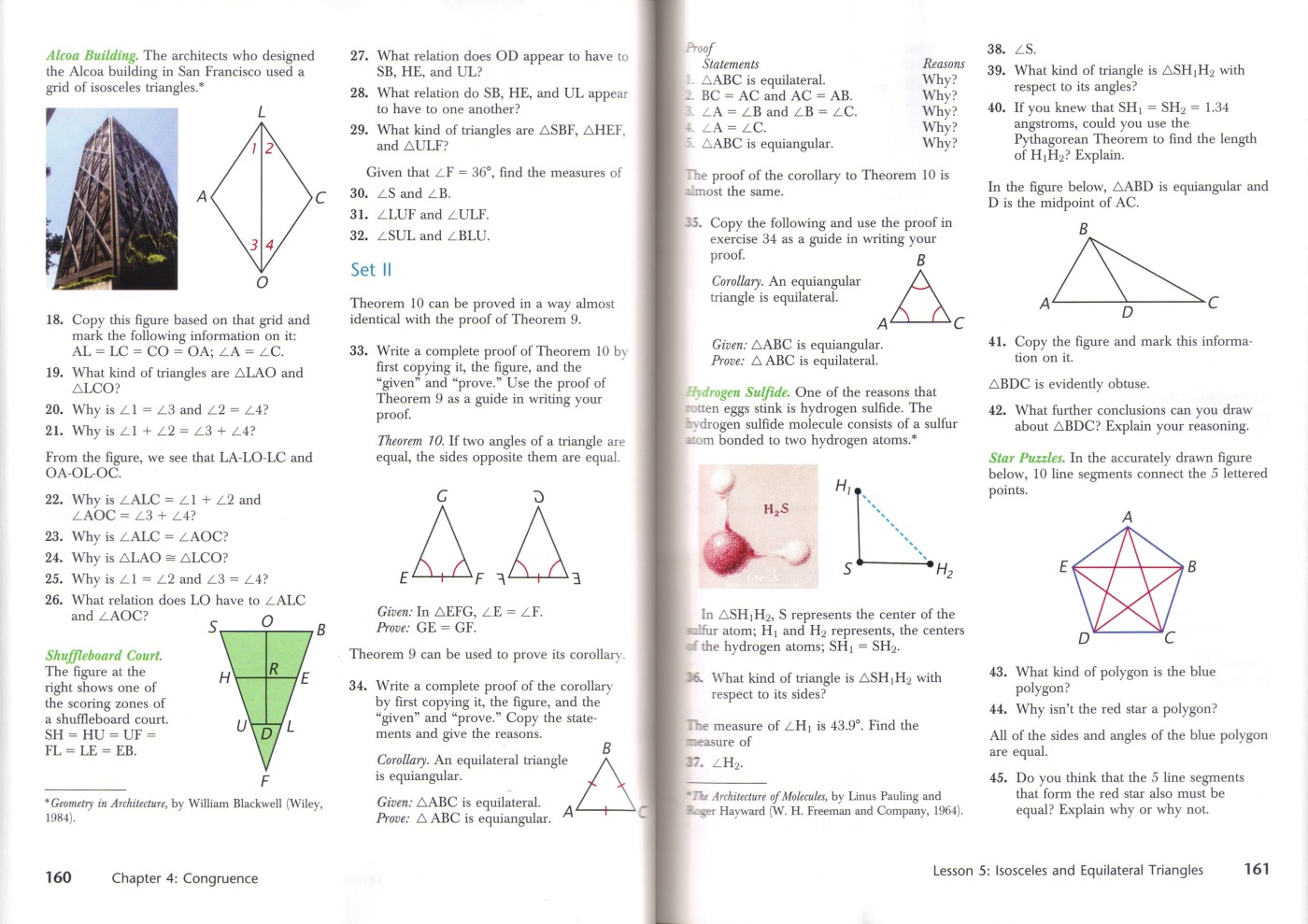 Review Of Harold Jacobs Geometry Seeing Doing Understanding Third Edition