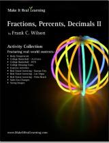 Make It Real Learning Fractions, Decimals, Percents II workbook