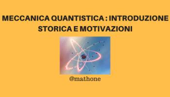 Meccanica quantistica