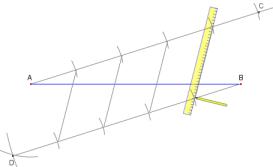 Printable Instructions For Dividing A Line Segment Into