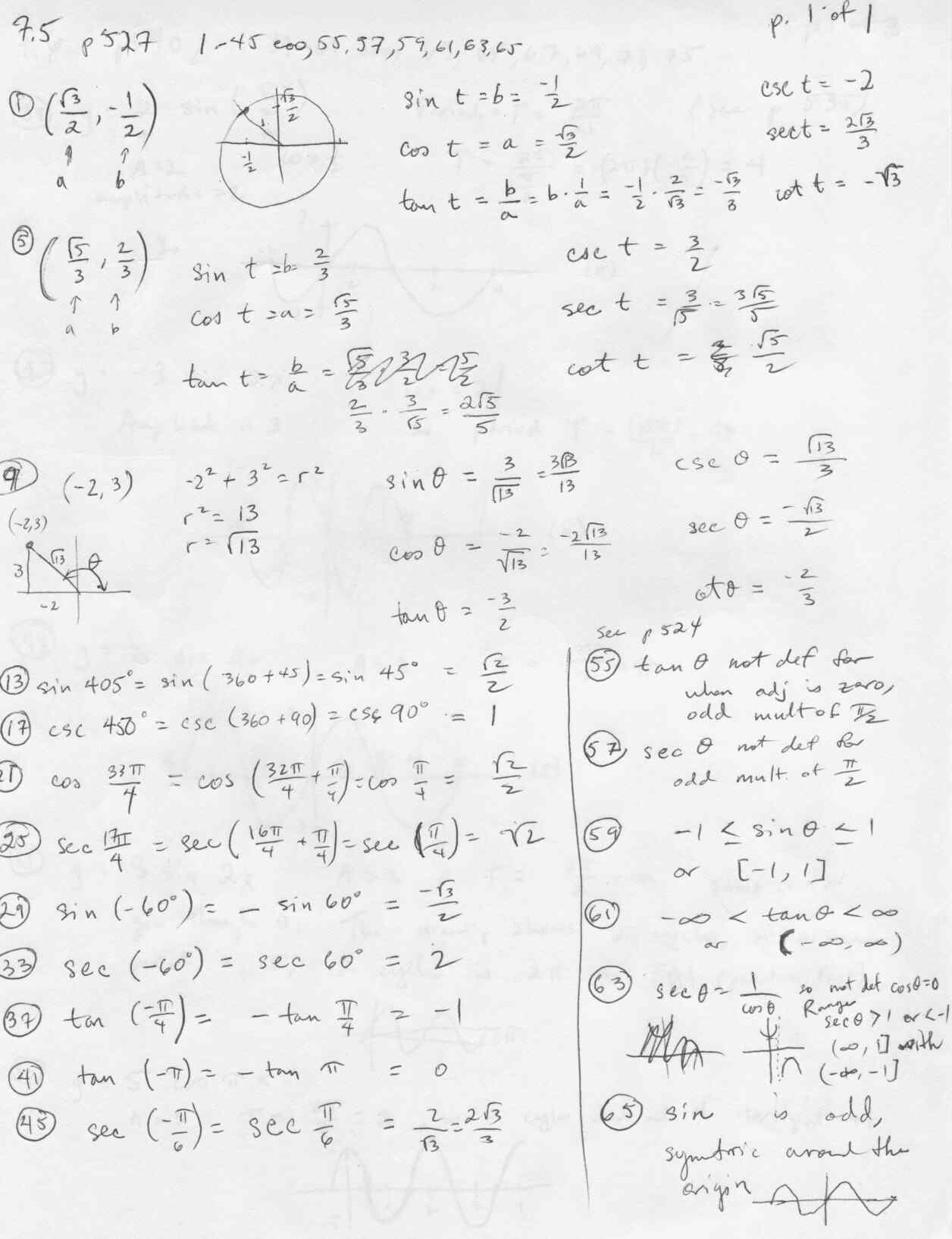 Inverse Functions Worksheet 74 Answers