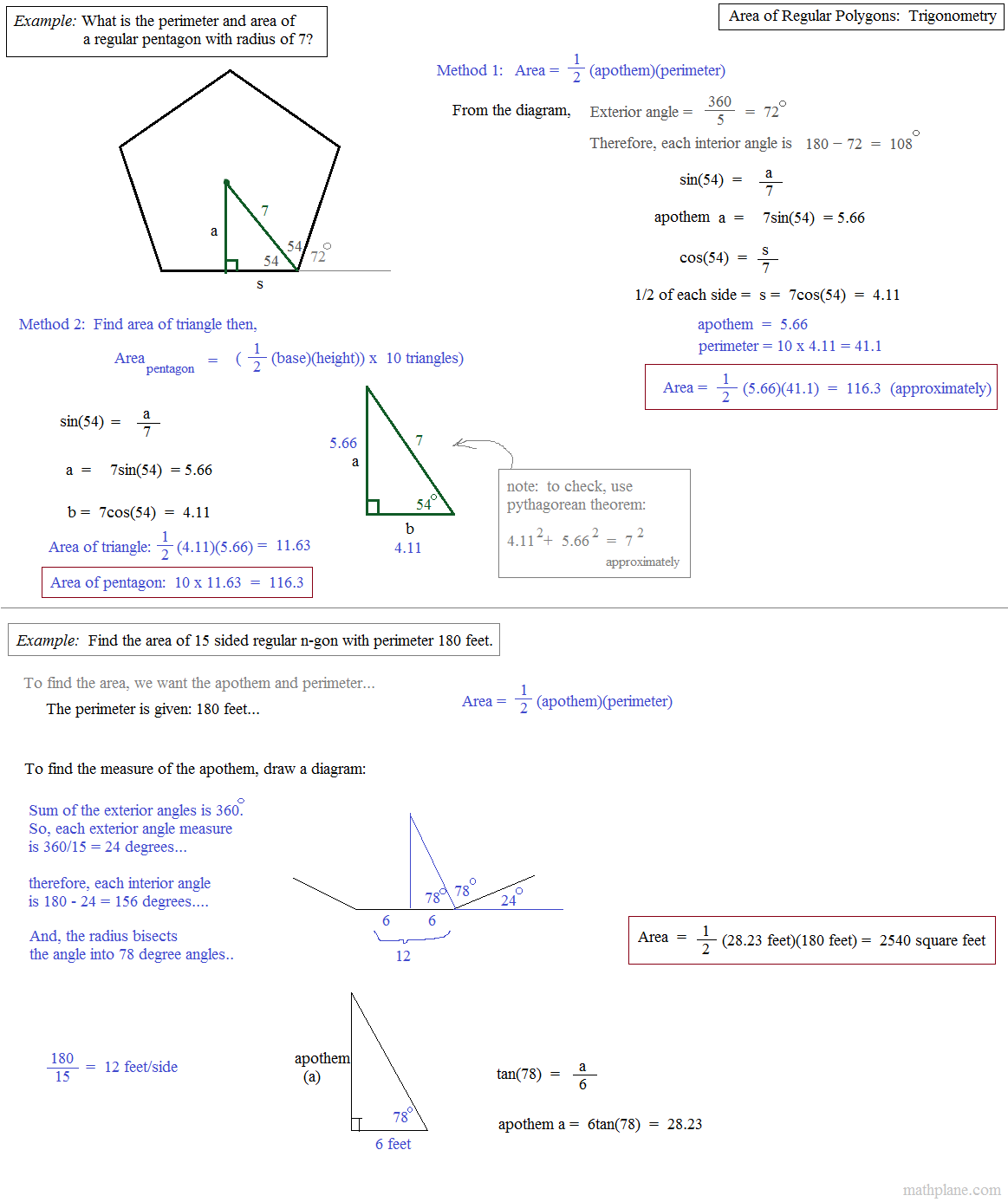 Geometry Area Of Polygons Worksheet