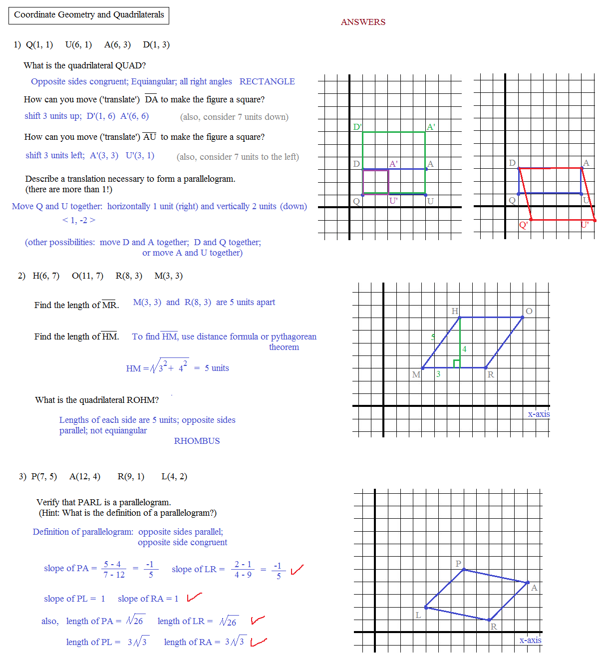 Worksheet Coordinate Geometry Worksheet Worksheet Fun