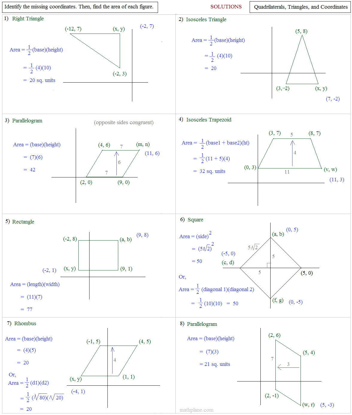 Worksheet Coordinate Geometry Worksheets Grass Fedjp