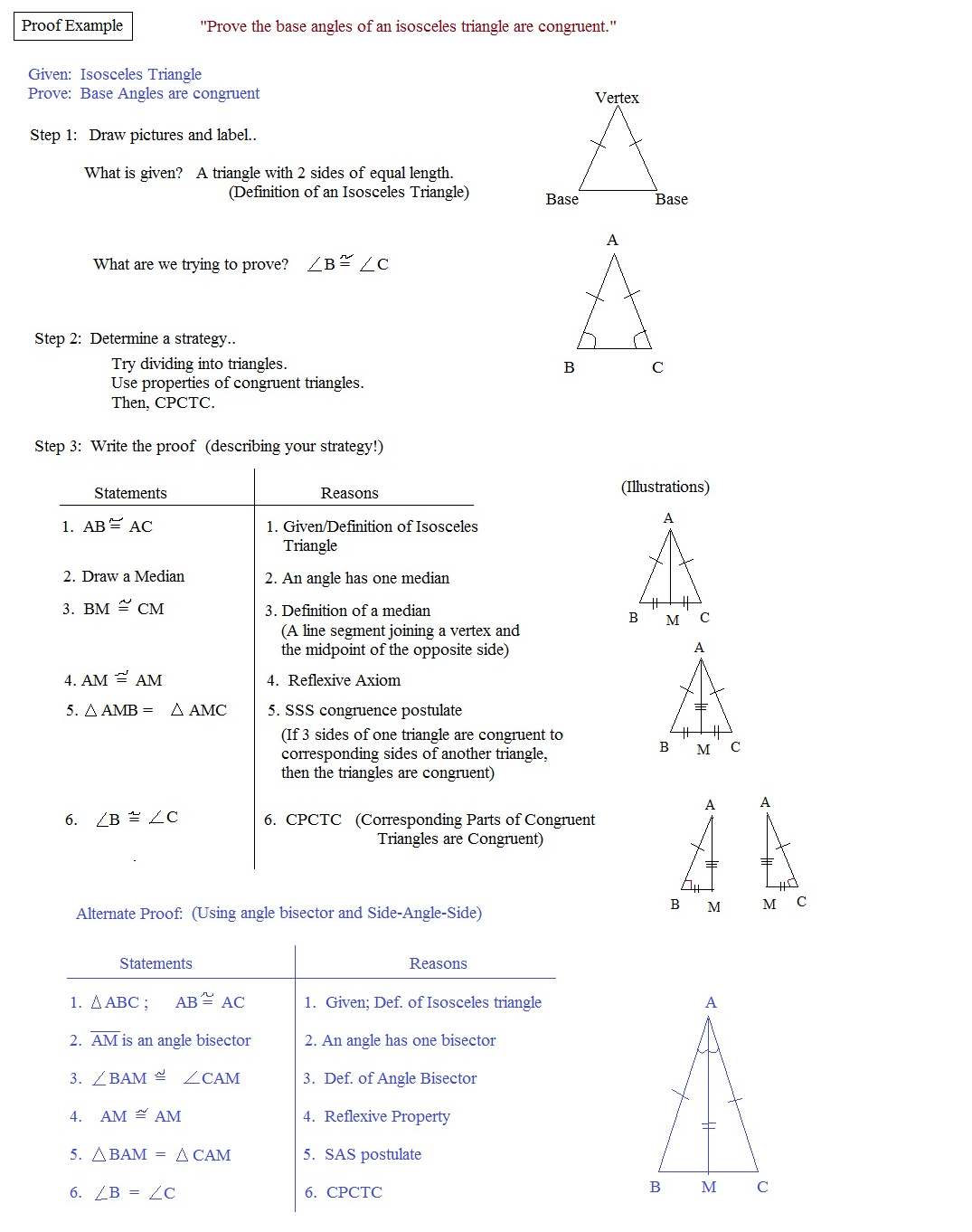 Geometry Triangle Congruence Worksheet Answer Key