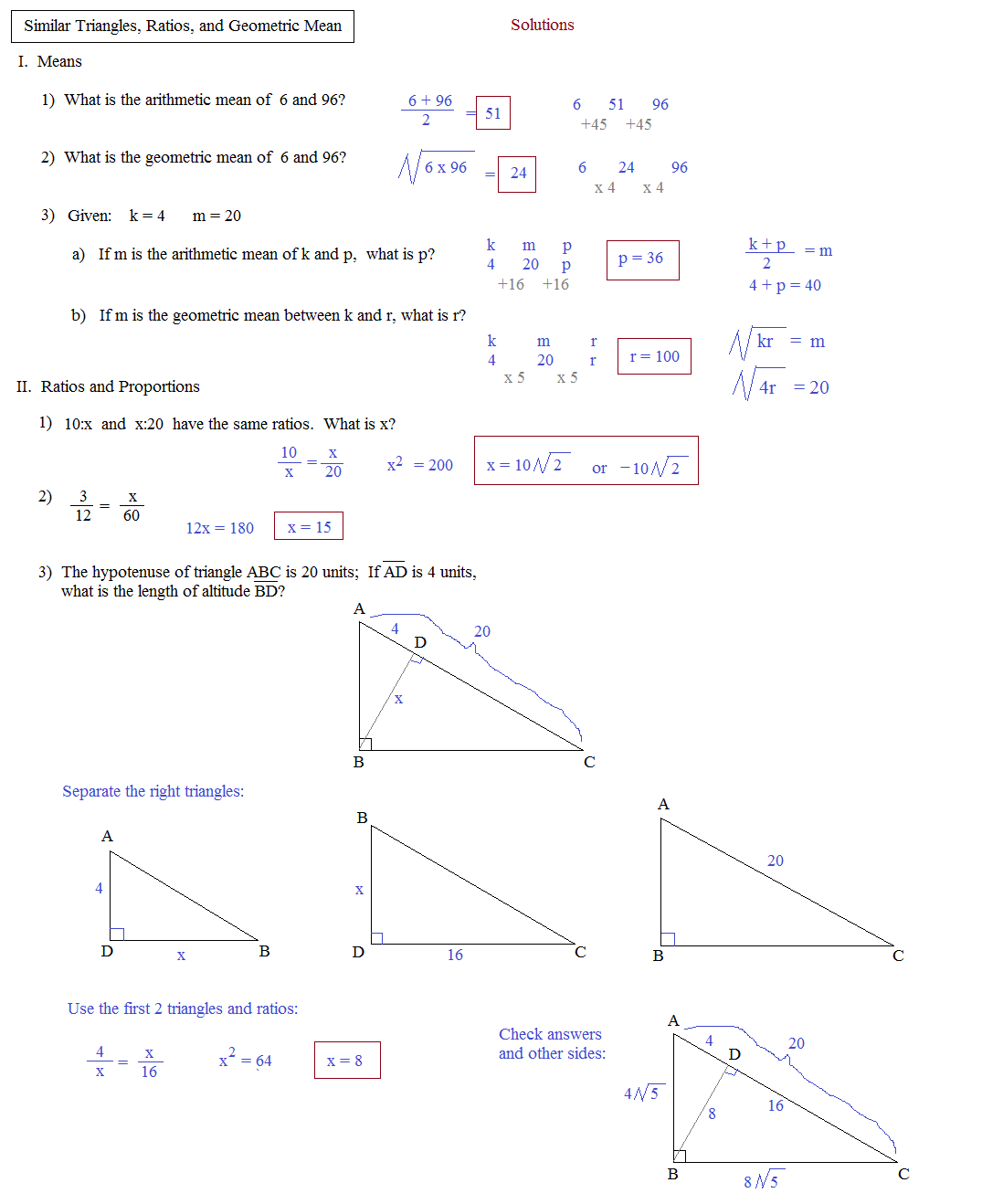 Statistics Homework Help Services Geometric Mean