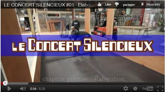 Concert silencieux -   élaboration
