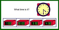 Time Games - What Time is it?