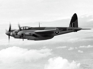 Figure 1: de Havilland Mosquito fighter-bomber.