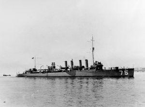 Figure 1: Wickes-Class Destroyer.
