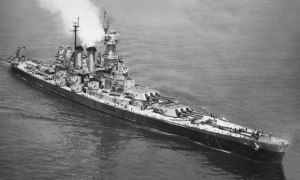 Figure 1: USS North Carolina, my choice for the most beautiful of the US battleshps. (Wikipedia)