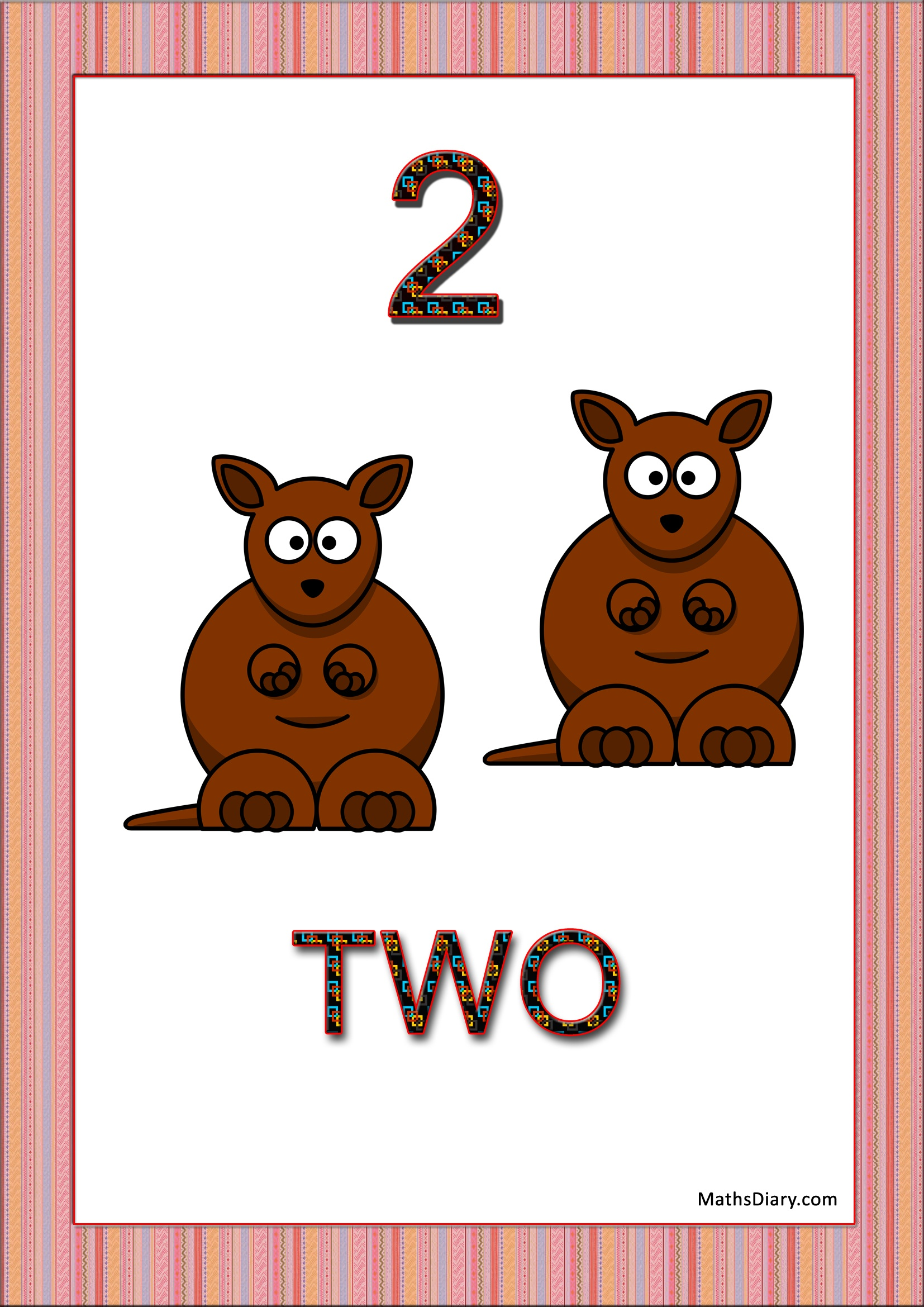 Learning Counting And Recognition Of Number 2 Worksheets Level 1 Help Sheets Part 2
