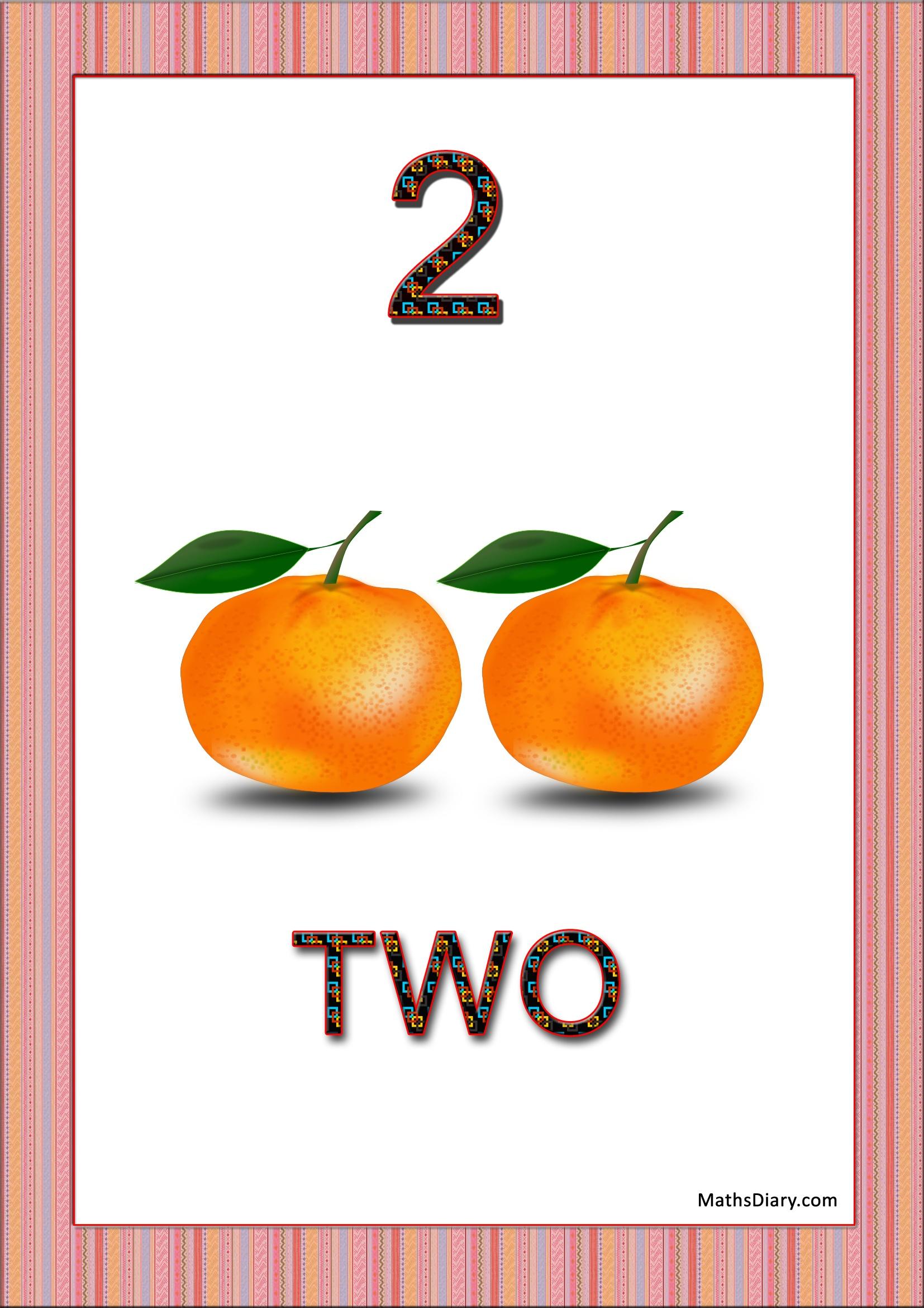 Worksheet Counting Oranges