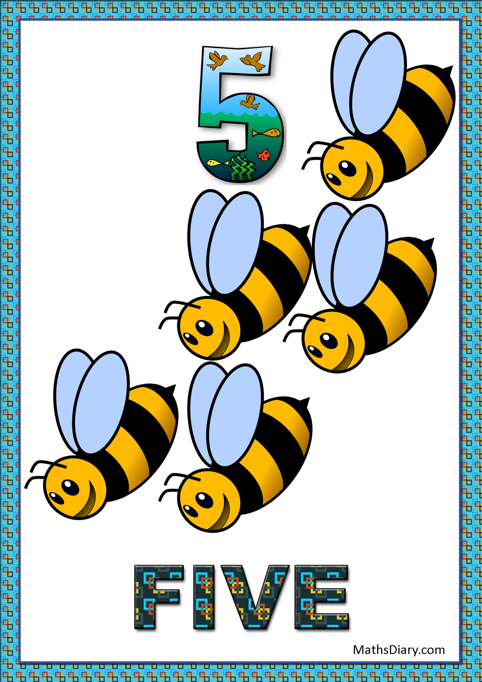 Counting Of 5 Worksheets Level 1 Help Sheets Part 1