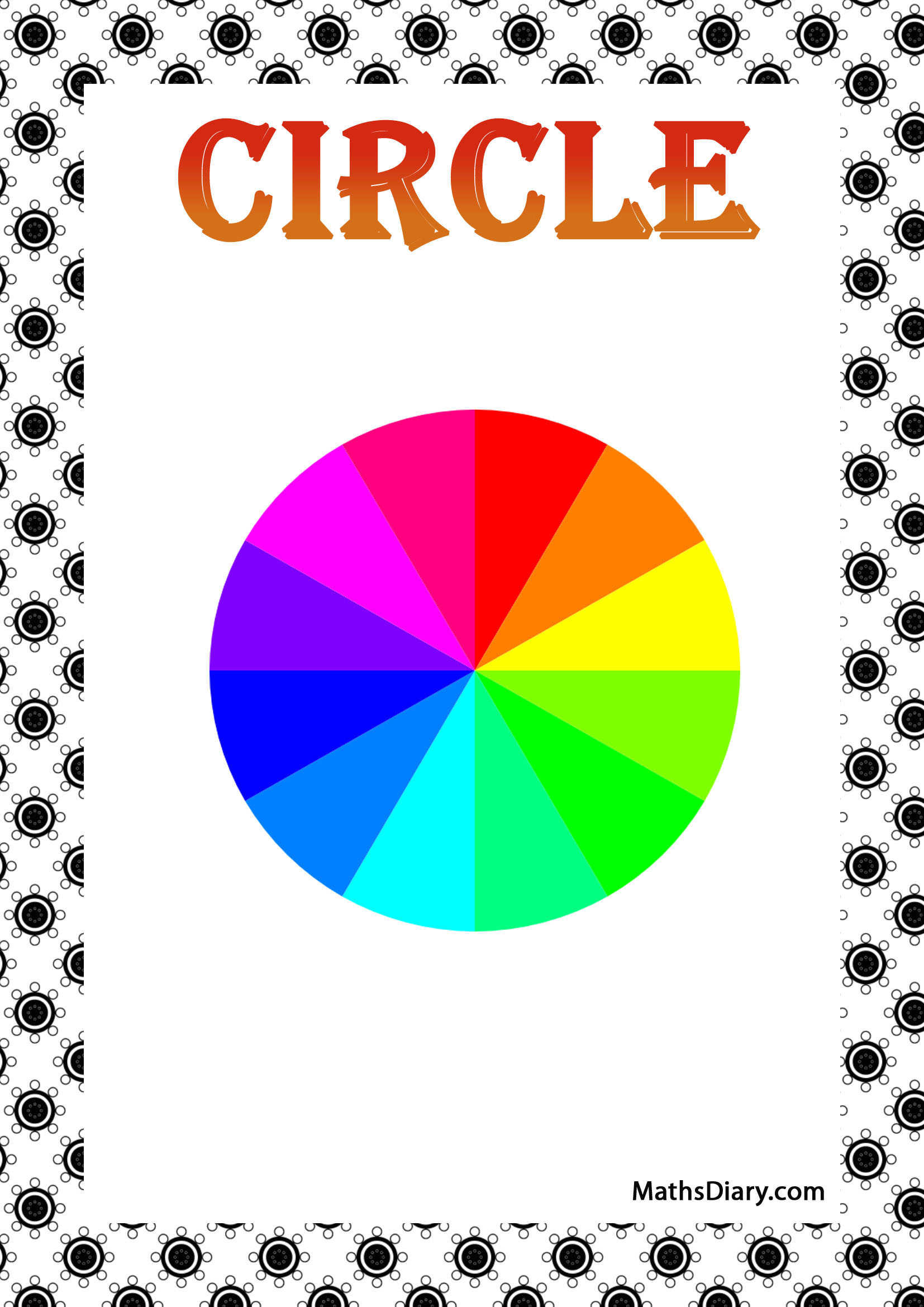 Identifying Circular Shapes Worksheet