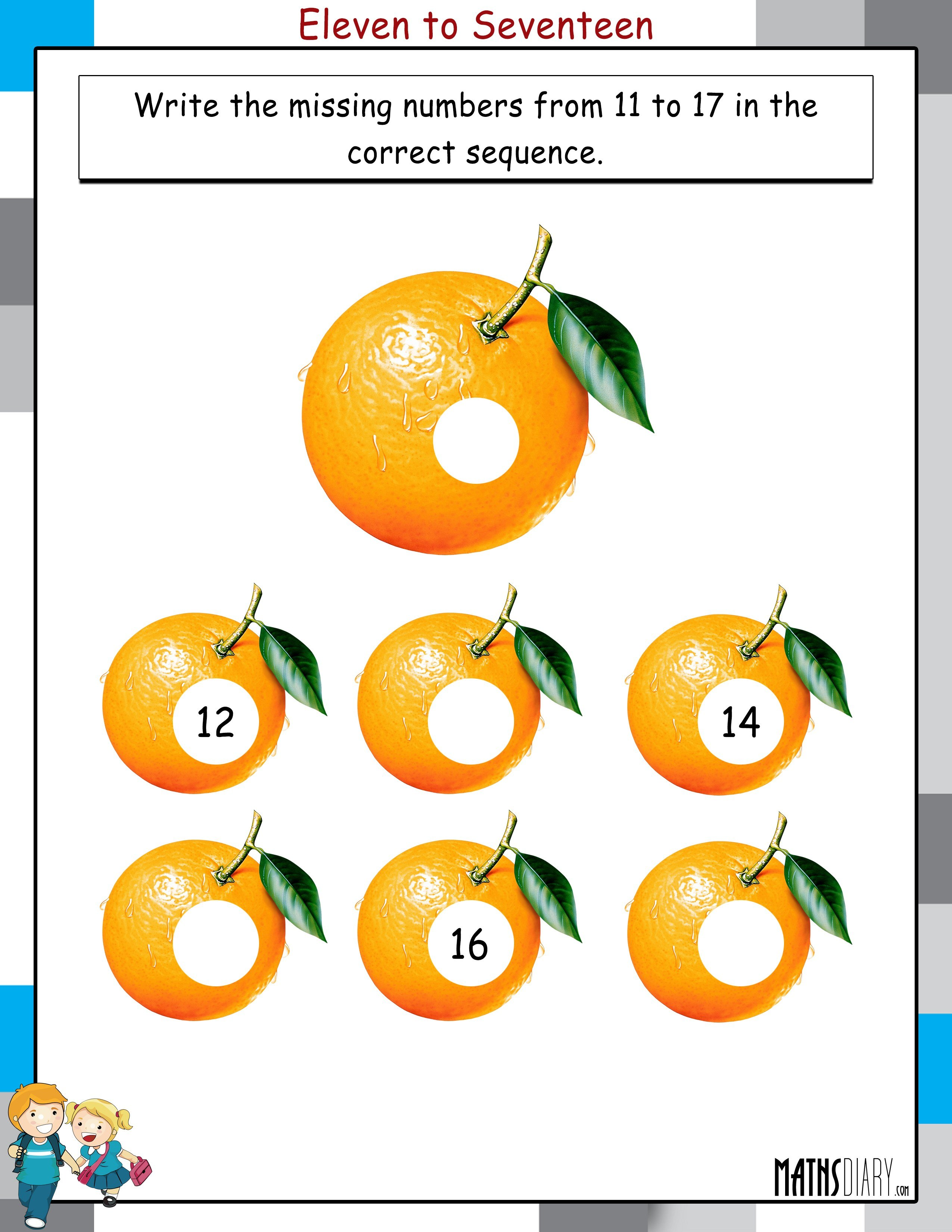 Mental Maths Lkg Math Worksheets