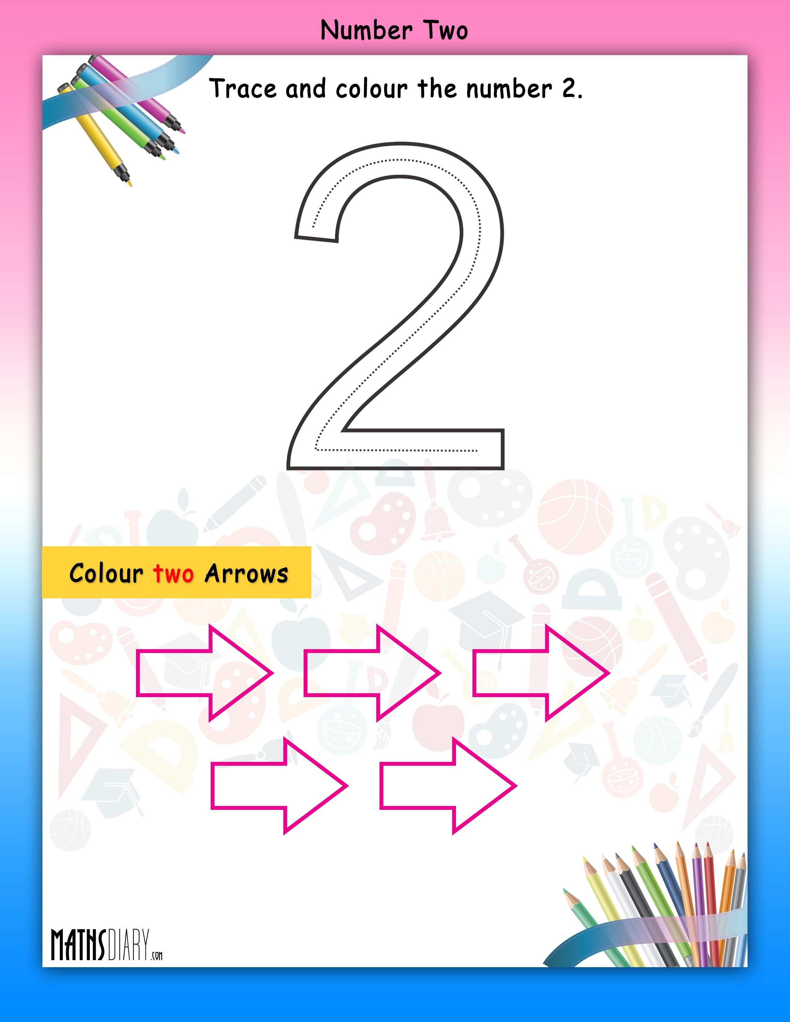 Numbers Nursery Math Worksheets
