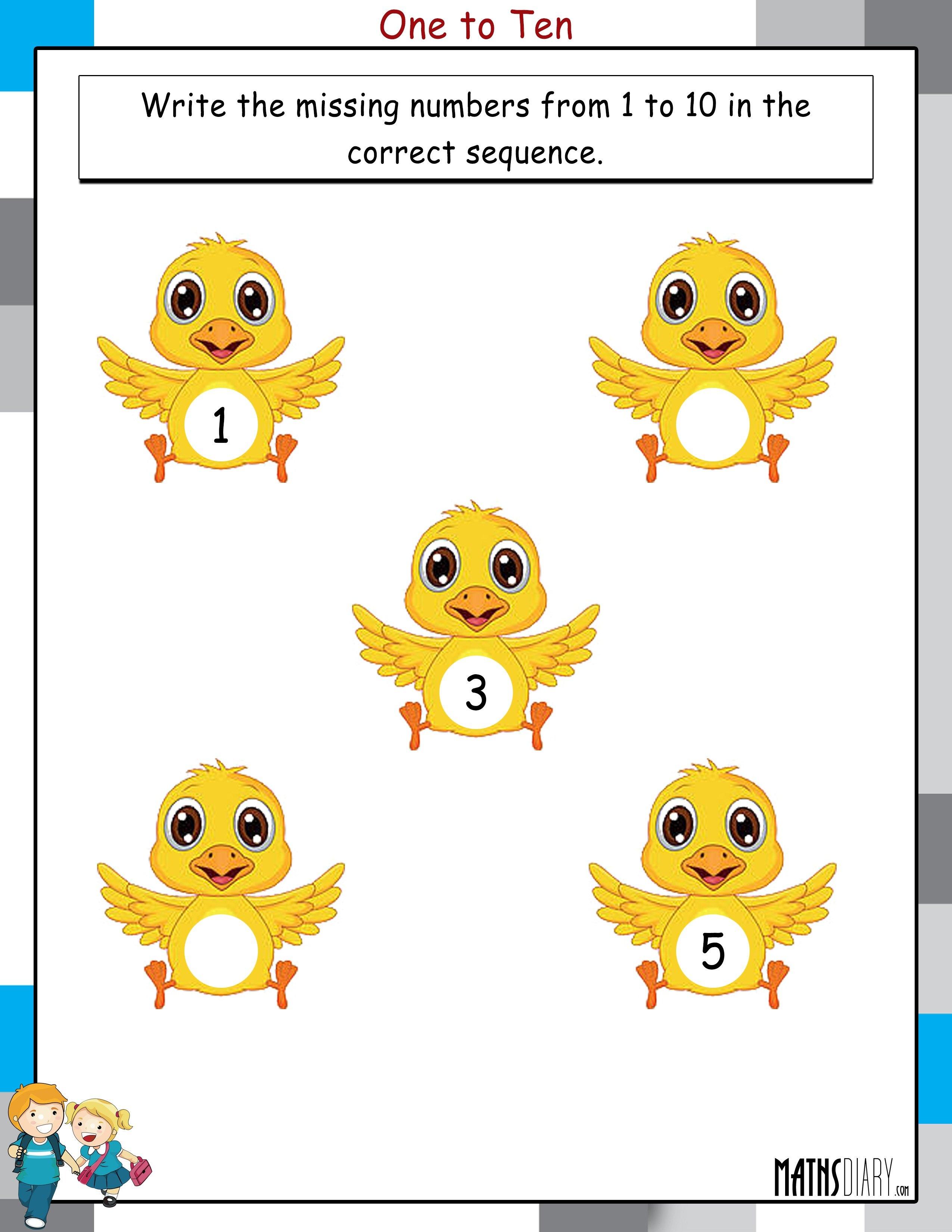 Numbers Lkg Math Worksheets Page Numbers Best Free