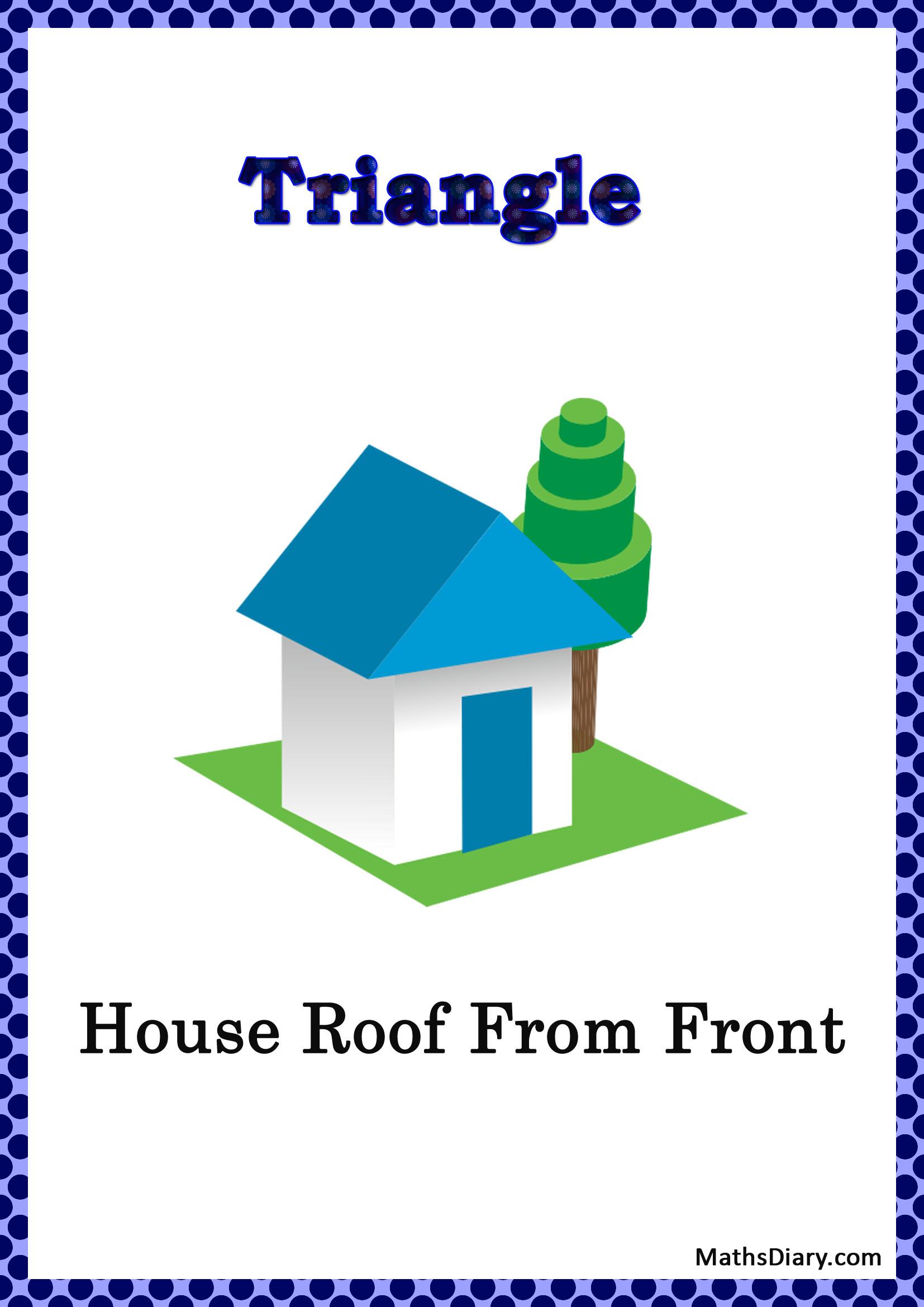 Identifying Triangular Shapes Worksheet