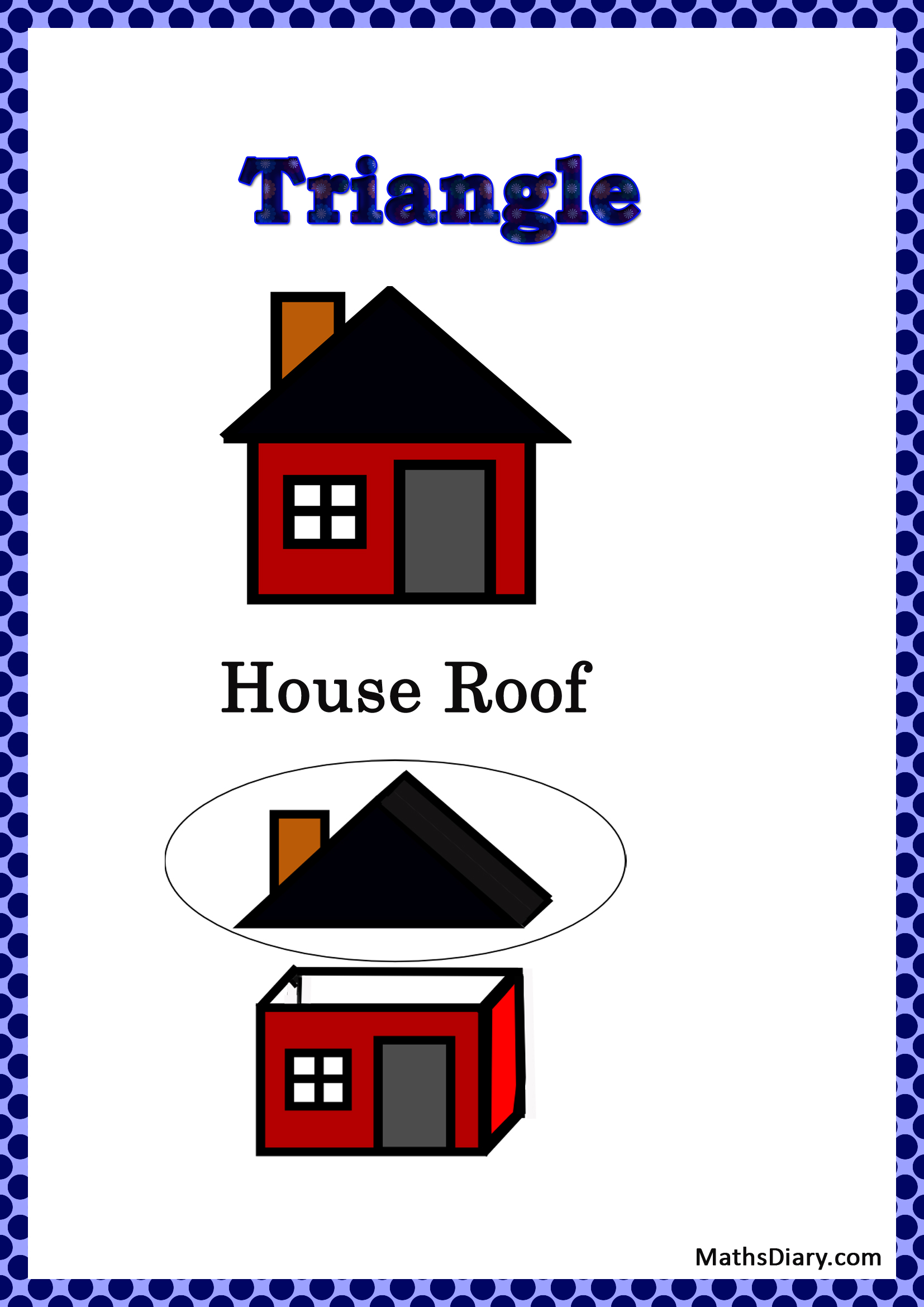 Identifying Triangular Shapes Worksheet
