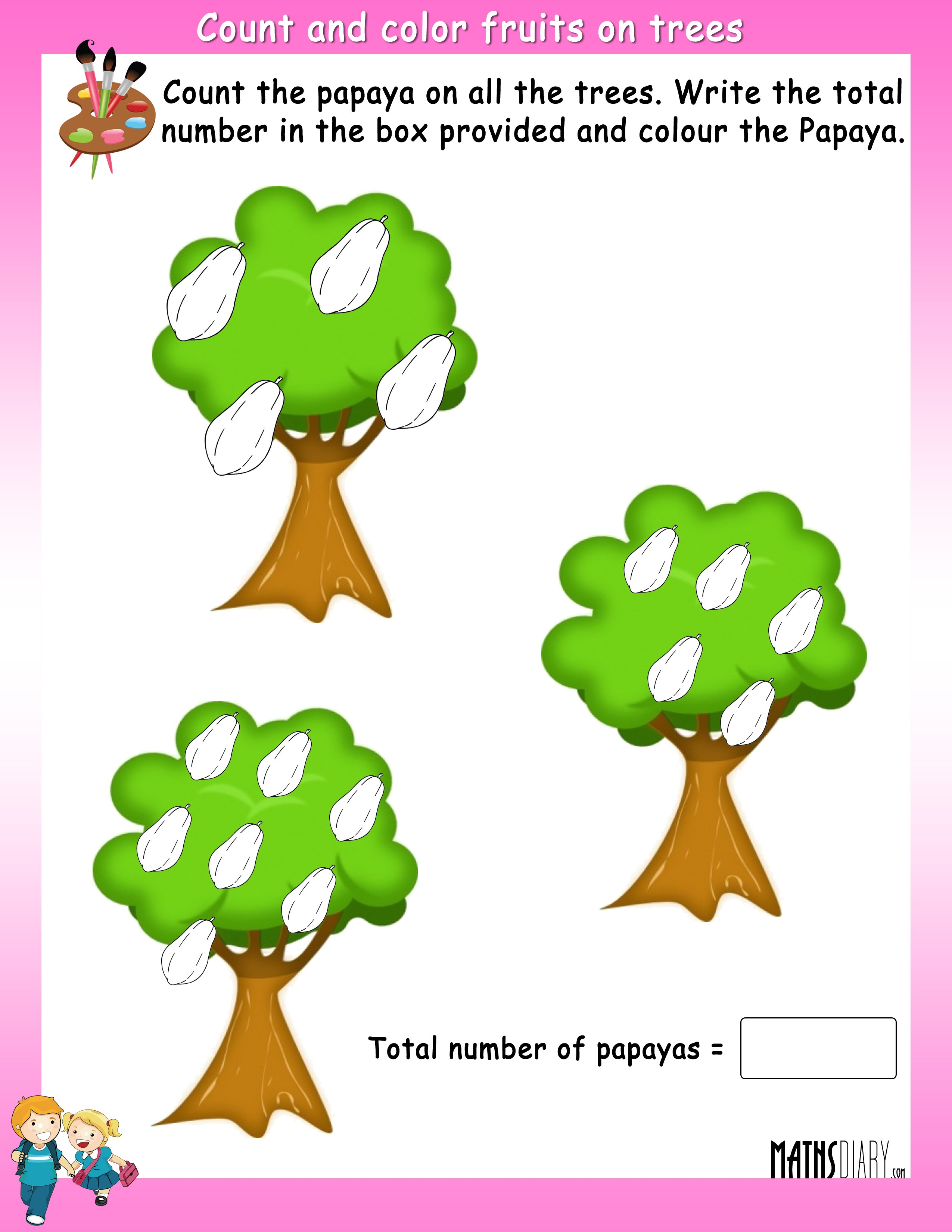 Addition Grade 1 Math Worksheets