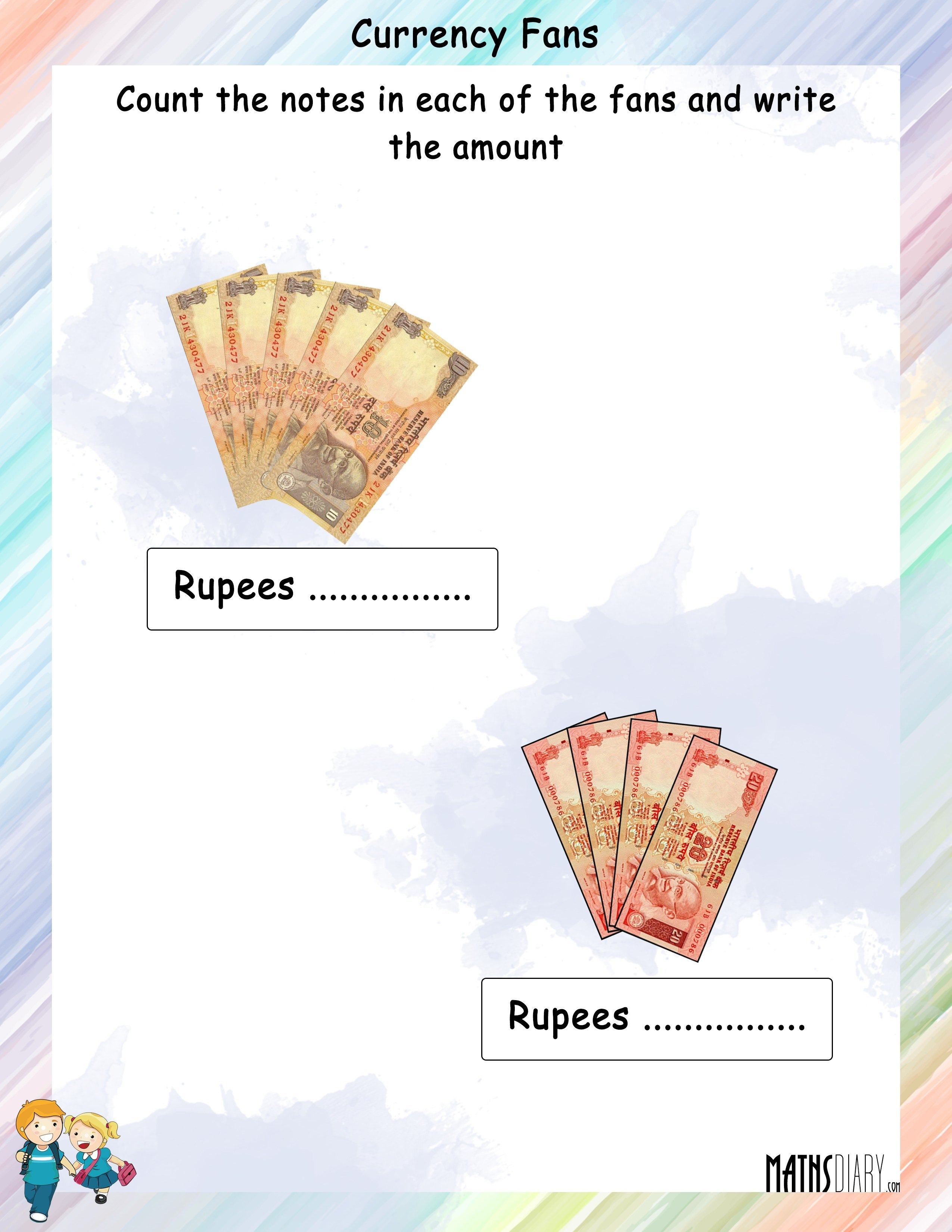 Count The Currency Notes