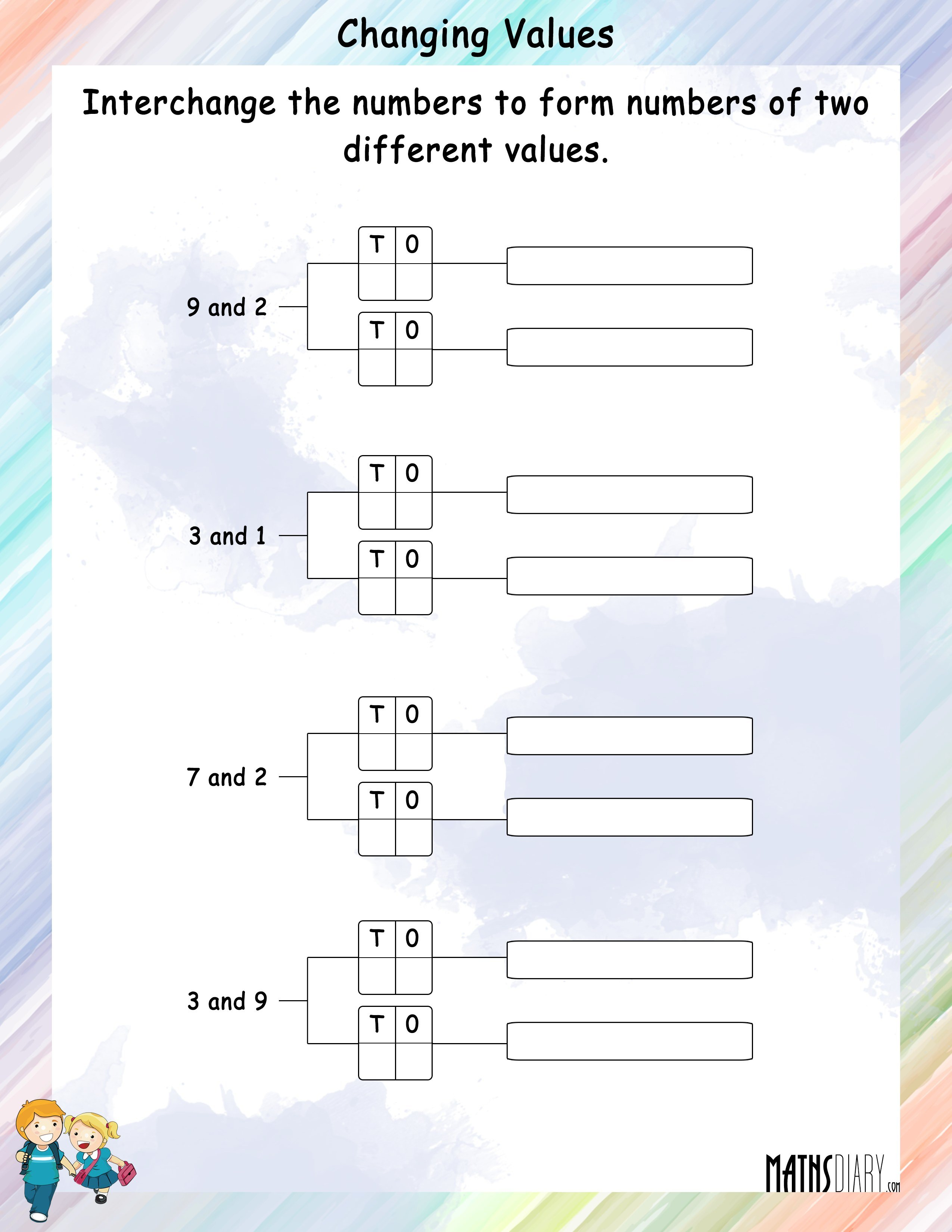 Mental Math Worksheets Grade 7