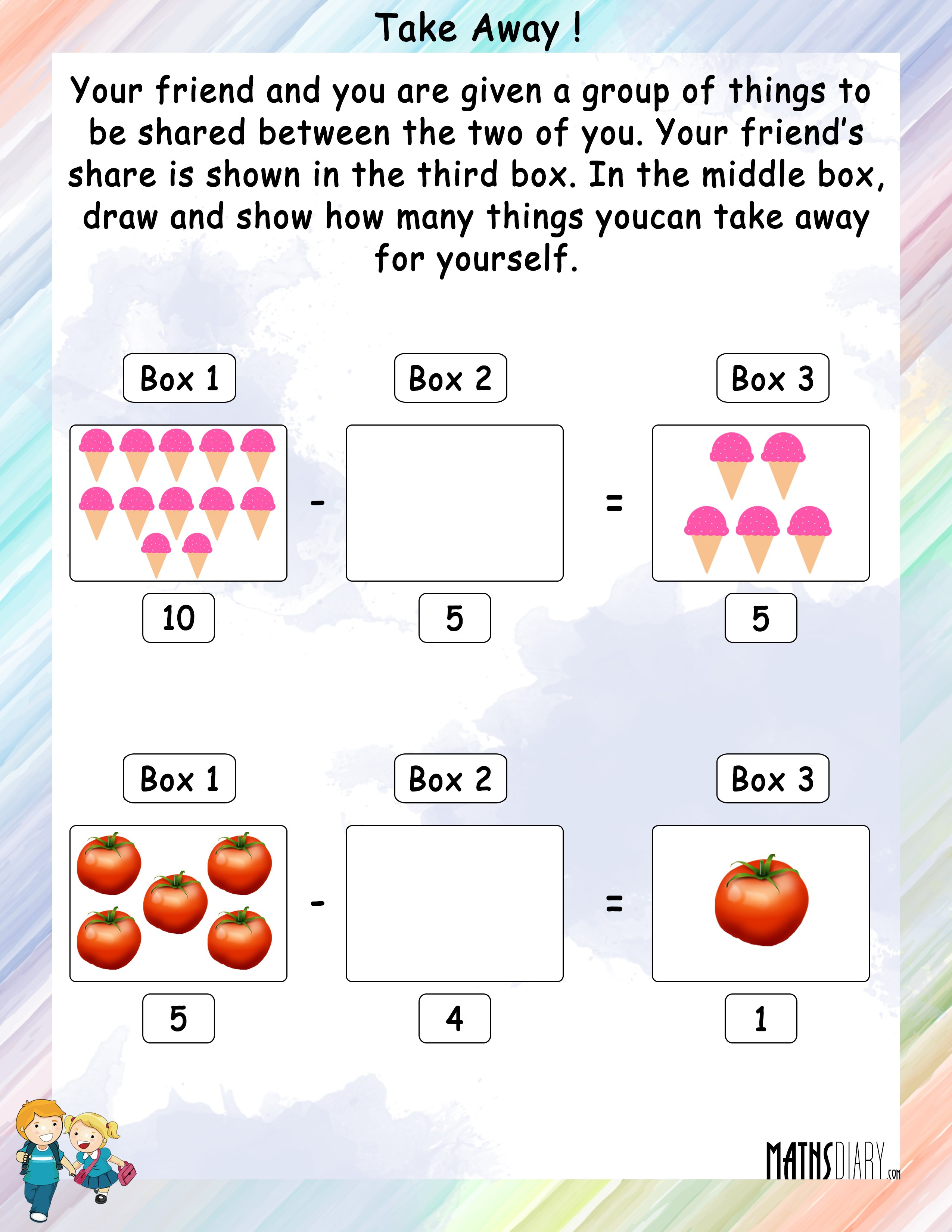 Practical Subtraction Year 2