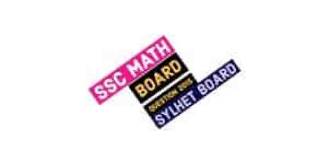SSC Sylhet Board Math Question Paper 2015