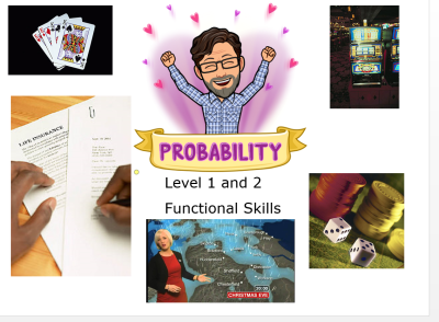 Probability for Functional Skills students