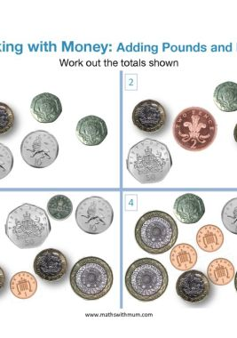 counting pounds and pence worksheet pdf