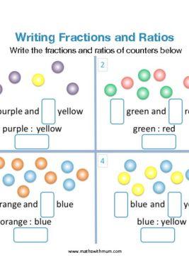 understanding ratios worksheet pdf