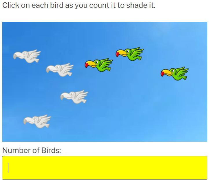 learn how to count to 10 with birds