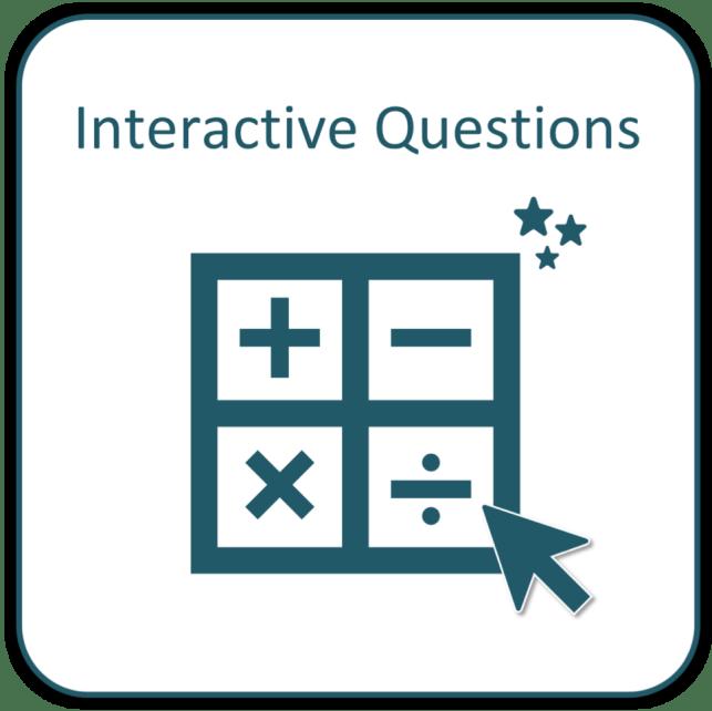 interactive practice questions
