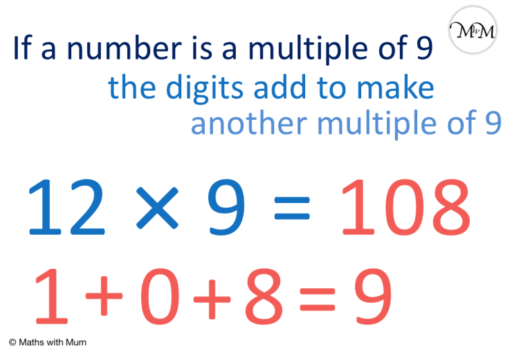 rule to decide if a number is a multiple of 9