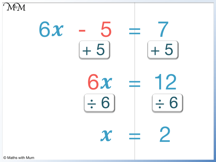 how to solve a 2 step equation in steps
