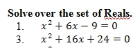 Completing The Square Worksheet With Answer Key 25