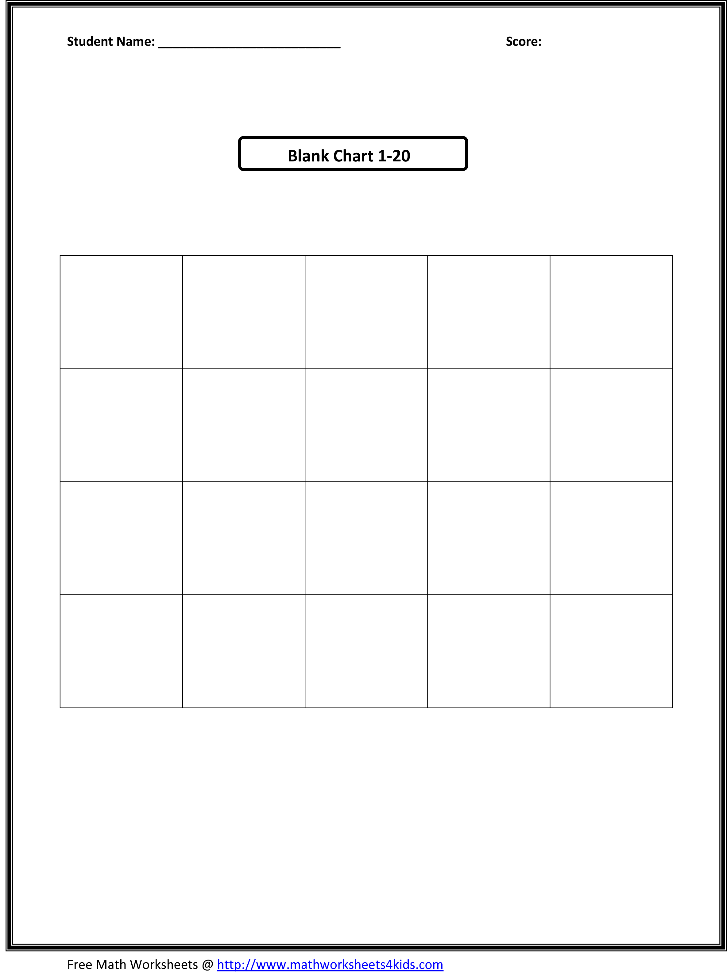 Download Vocabulary Chart Template Free Free Software