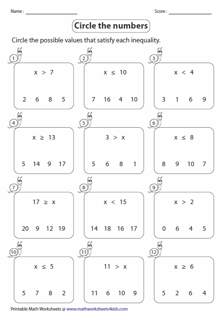 Algebra Worksheet New 838 Algebra Worksheets Beginners