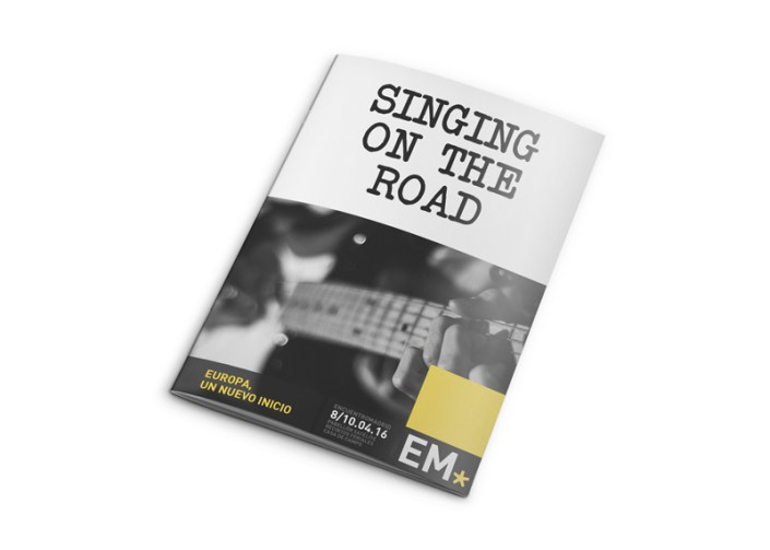 Libreta Singing On The Road EM16