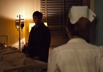 the Godfather 1973 hospital scene