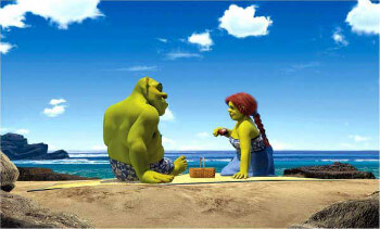 Shrek 2: Shrek and Fiona