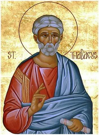Άγιος Θαδδαίος ο Απόστολος