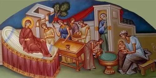 Γενέσιον Θεοτόκου – Έργο του Μανόλη Ζαχαριουδάκη
