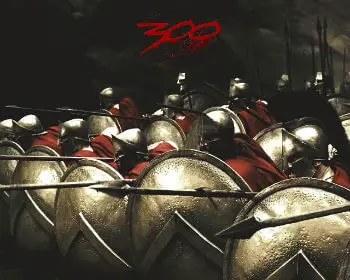 300 ancient greek phalanx formation