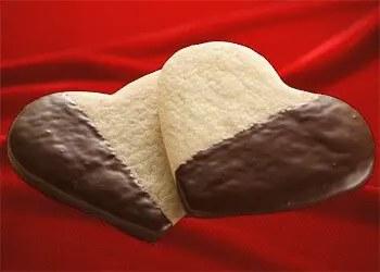 μπισκότα καρδούλες