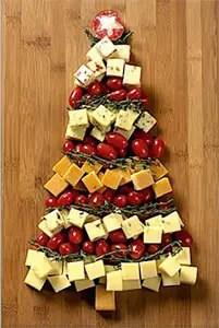 Χριστουγεννιάτικο δέντρο από τυριά