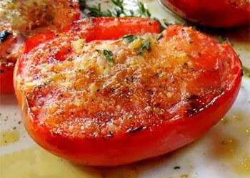Ψητές πικάντικες ντομάτες